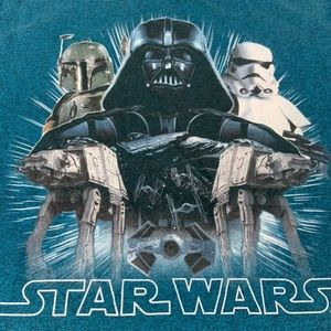 Star Wars darth vader shirt size 2XL
